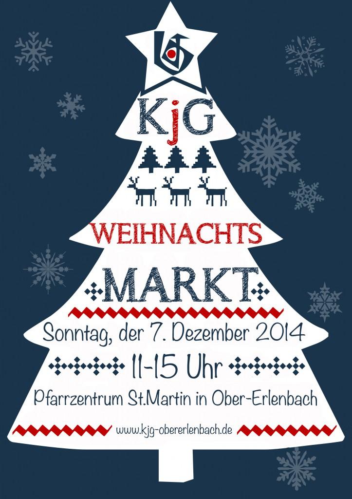 Weihnachtsmarkt KjG 2014
